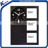 wall clock with picture frame/photo frame wall clock