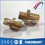 DZR tube fitting gas water galvanized brass unequal straight pex pipe union