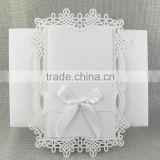 Party Decoration Laser Cut Antique Imitation Style Handmade Wedding Invitations                                                                         Quality Choice