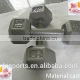 Wholesale Cast Iron Hex Dumbbell/Dumbell Set