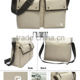 Hot Sale high quality special Promotional fashion Shoulder bag white and brown