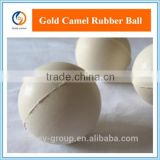 Various Sizes White/Brown/Transparent Solid Cheap Rubber Bouncing Ball for Screen Cleaning