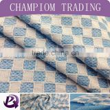 2015 Shaoxing Champiom TextileHot Sell New Product Soild Dyed Polyester Elastane Knit Jacquard Fashion Fabric
