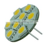 Side Entry 1.3W SMD 5050 G4 LED RV Lamps