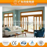 aluminum frame sliding glass door for living room
