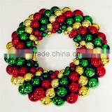 Hot Sell Factory Christmas Ball Wreaths