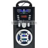 New Arrival AM/FM/SW Hot Sales Battery Operated Clock Radio am/fm usb sd