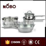 High Quality 201 Stainless Steel Nonstick Cookware Sets