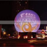 new invention fashion design flexible spherical led sphere display