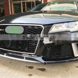 front bumper lip bodykit for Audi A7 RS7 S7