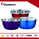 Low price and mirror polishing stainless steel mixing bowl set                                                                         Quality Choice