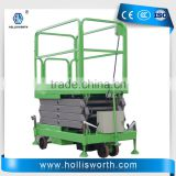 2m Lifting Height Hydraulic Scissor Lift for Machinery Installation