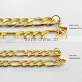 6/8mm 3:1NK Chain Gold Necklace Designs in 10 grams 91816
