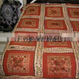 Indian Bohemian BedSpreads Handmade HandCrafted