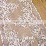 fashion lace trinming/beautiful bridal veil/african style dress