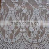 embroidered tulle fabric/african handcut voile lace/cupion lace fabric 2015/swiss voile lace