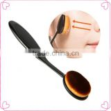 Professional nylon hair high quality oval toothbrush makeup brush                                                                         Quality Choice                                                     Most Popular