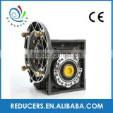NMRV Transmission Aluminum Alloy Worm Gearbox worm wheel reducer economic,micro worm gearbox