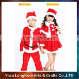 Wholesale cheap christmas costume cosplay santa claus costume children red christmas costume