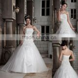 Medieval Strapless Beaded Ball Gown Floor Length Wedding Dress xyy03-088