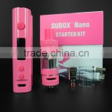 Genuine Kanger Original KangerTech Kanger Subox Nano starter kit with Pink, Purple & Black color Available