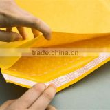 Kraft envelope bubble self adhensive strip mail bag accept custom design free artwork design