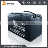 hybrid car battery 12V 7Ah manufacturer China UPS lead acid battery