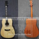 Weifang Rebon Abalone Binding All Solid Acoustic Guitar with Fishman EQ