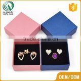 Manufacture exw price custom simple special jewelry gift boxes paper jewelry box offering free sample