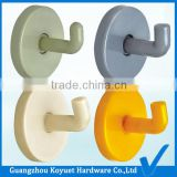 Wholesale Modern Free Sample Factory Directly Toilet Partition Accessories Plastic Bathroom Clothes Rack Hook