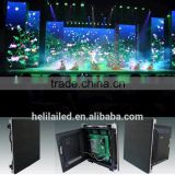Alibaba refresh p4 indoor advertise mini led screen stage background led display aluminum led housing big screen p4 indoorFull