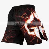 men's dri fit fighting MMA Shorts,new custom front build closure anti-slip boxing MMA shorts