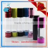 China Empty Arcylic Cream Bottle And Airless Pump BottleColorful Plastic Bottle Cosmetics Containers