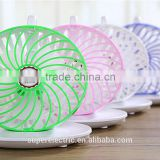 Top quality wholesale plastic rotatable usb fan fashional cheap portable mini usb desk fan