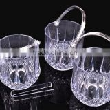 High-grade Clear Ice Cooler Bucket with tong