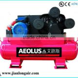 Single stage lubricated Motor engine JL3080 three cylinders 5.5 HP piston air compressor
