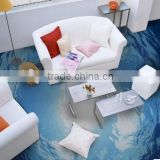 Popular 3D effect stickers wallpaper wall murals for floor and decor                                                                         Quality Choice
