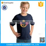 Bulk Organic Cotton Kids Tshirts Wholesale Blank T shirt Short Sleeve Casual Tshirt