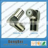 buy 75 ohm right angle f female pal male airties wireless adaptor