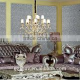 Zhihua best selling high quality environmental living room wallpaper 3D wall panels for wholesale
