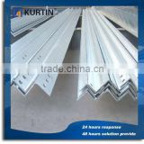 high quality q235 galvanized steel slotted angle bar for building structure