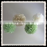 2016 NEW pom pom trim, beautiful giant flower decoration, wedding flowers for decoration