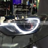 For Hyundai Elantra 2011 LED head lamp modified/tuning/refit