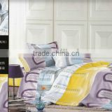 100%polyester dispersed velour/70gsm microfiber bedding set/pigment print/many designs/nantong factory