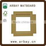 Wholesale precut acid free paper mount board mat board matboard for photo frame