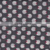 Cotton Silk Blending Printed Plain Fashion Fabric For dress