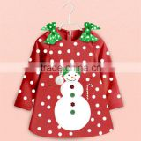 Baby birthday dress 2015 latest design Christmas costume wholesale winter dresses Christmas girls dress