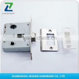 round square steel forend magnetic latch deadbolt 60mm backset truck container mortise door lock body