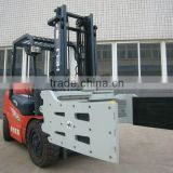 Forklift attachment clamping/ bale clamp