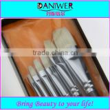 Best seller! 6pcs Artist brush,Paint brush,Artist painting brush,Wooden brush for painting